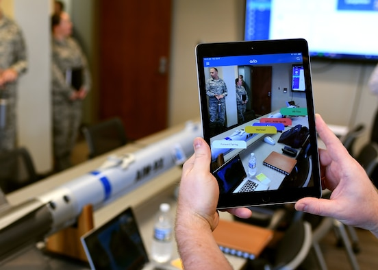Virtual and augmented reality demonstration
