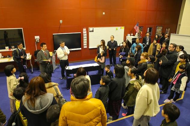 MCAS Iwakuni host Friendship Tour