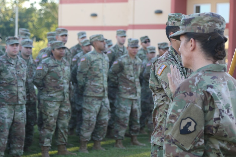 Army Reserve-Puerto Rico Soldiers return home from Cuba
