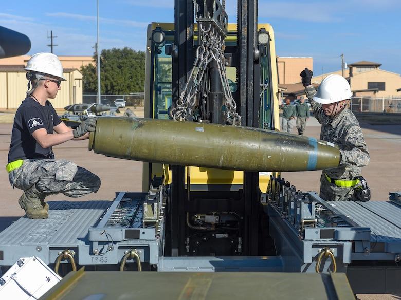 Airmen compete in Dyess Strike Challenge
