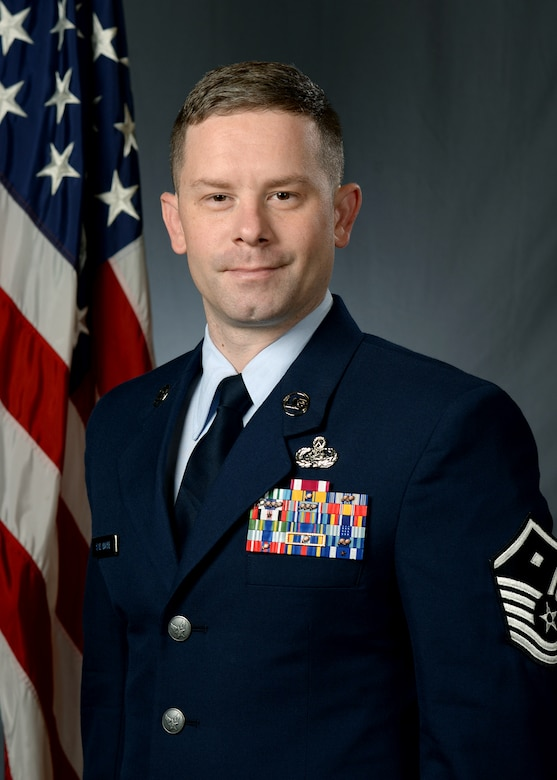 Master Sgt. Scott Salamone - 628th Comptroller Squadron and Wing Staff Agencies first sergeant