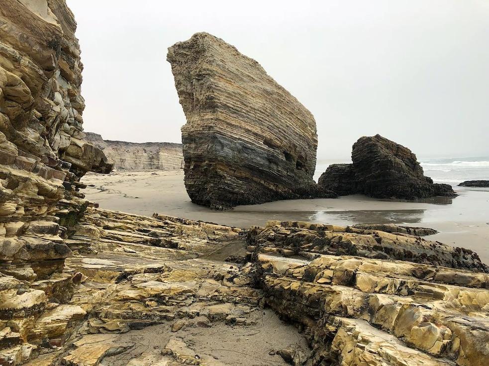 Photo of Wall Beach shoreline