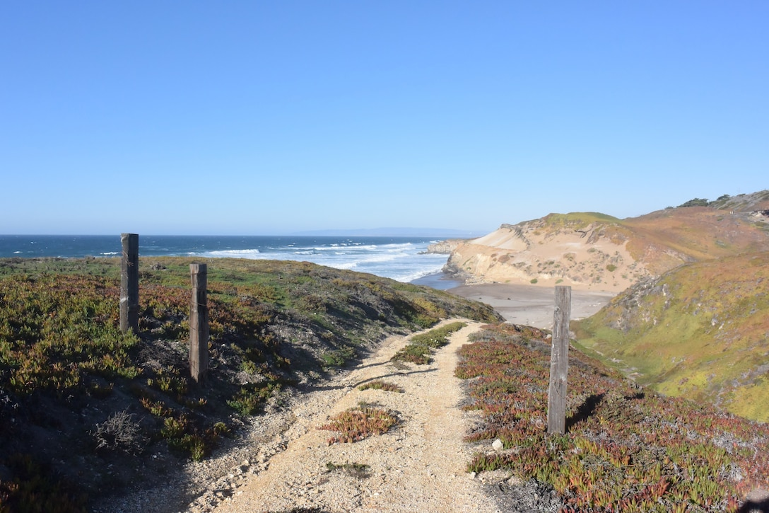 Trestle Beach at Vandenberg AFB