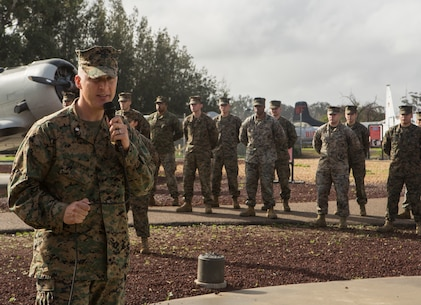 MAG – 41 Det Bravo welcomes new Sergeant Major