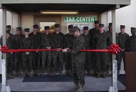 Grand Opening: MCAS Miramar opens its tax center