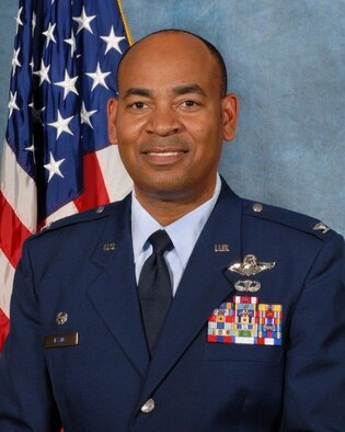 Col. Ed Evans, 186th Air Refueling Wing commander