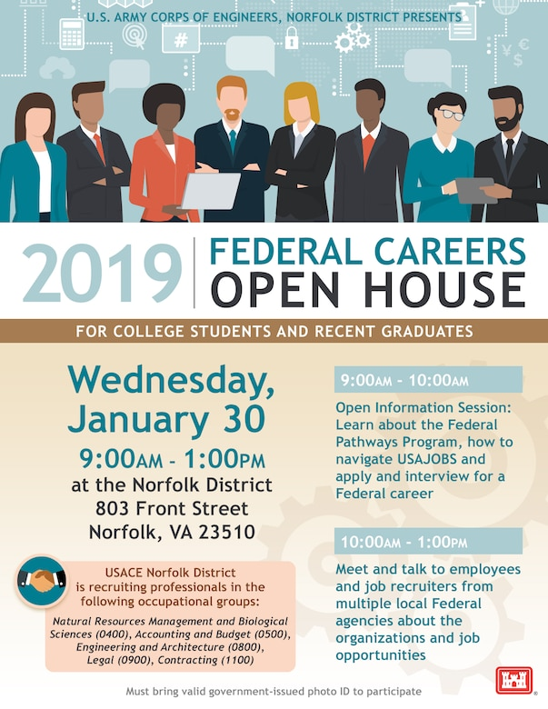 Open House Flyer taking place on January 30, 2019 at the Waterfield Building. 9 a.m. - 1 p.m.