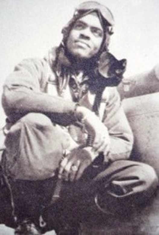 "Black History Month celebrates and recognizes significant achievements made by African Americans such as Robert Williams. Williams served with distinction with the Tuskegee Airmen during World War II winning several medals. He later wrote book of his experiences which later was turned into the 1995 HBO movie ""Tuskegee Airmen. (Courtesy Photo)"