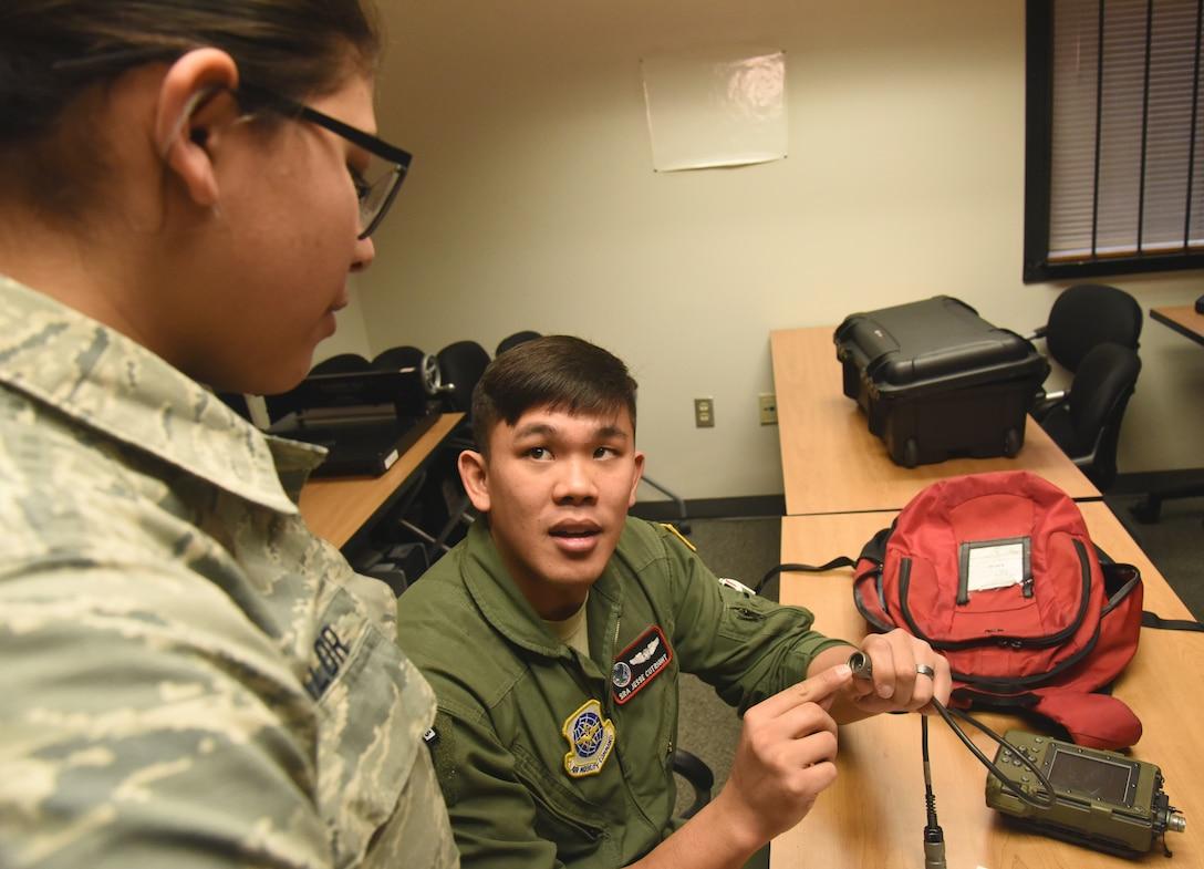 Combat crew communications ensure mission security