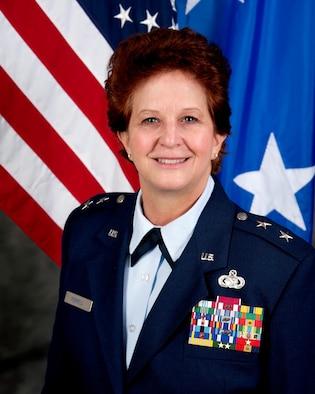Major General Dawn M. Ferrell official photo