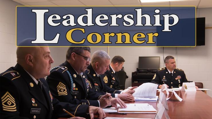 Leadership Corner