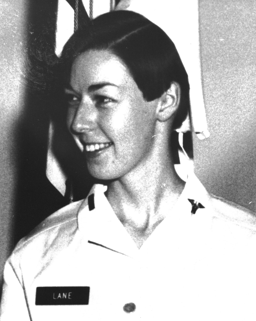 1st Lt. Sharon Lane, a U.S. Army nurse, was killed by enemy fire while trying to protect patients at the 312th Evacuation Hospital in Chu Lai, South Vietnam in June 1969. She was the only U.S. military nurse killed by enemy fire during the Vietnam War.