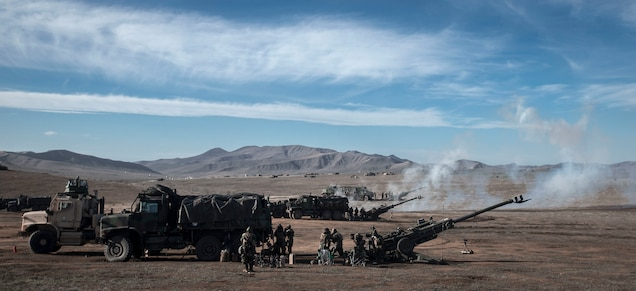 U.S. Marines with 2nd Battalion, 11th Marine Regiment, 1st Marine Division participate in exercise Steel Knight (SK) 2019 at Marine Corps Base Camp Pendleton, California, Dec. 2, 2018.