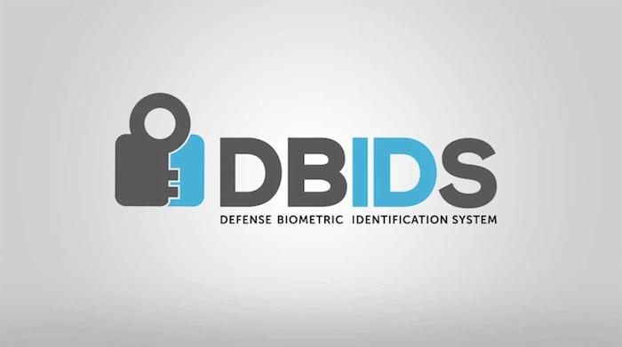 Defense Biometric Identification System logo.