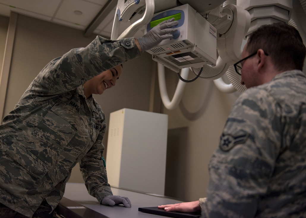 Diagnostic imaging is one of the 17 flights within the Air Force's Biomedical Sciences Corps. The BSC specialty is less known due to being embedded into the existing sections of Air Force medical groups that Airmen and dependents use every day, serving to compliment and strengthen patient care.