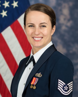 Official photo of Technical Sgt. Adrienne Kling, soprano with The United States Air Force Band, Joint Base Anacostia-Bolling, Washington, D.C.