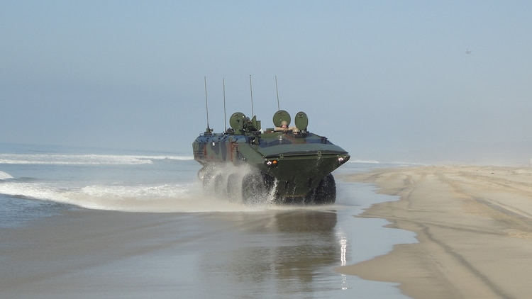 The Corps' new Amphibious Combat Vehicle offers 'significantly greater survivability, mobility' than predecessor