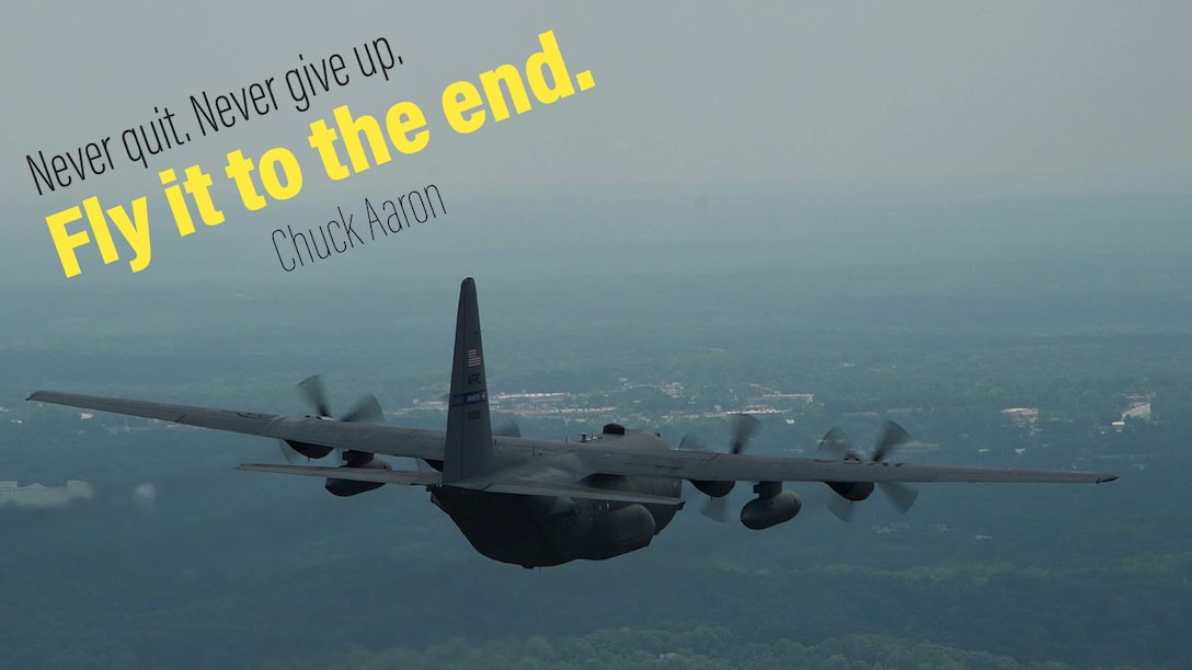 This week's Monday Motivation is from Chuck Aaron: