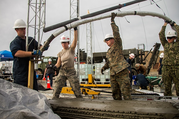 Bringing innovation to fruition: Marines 3D print 1st reinforced concrete bridge in western hemisphere