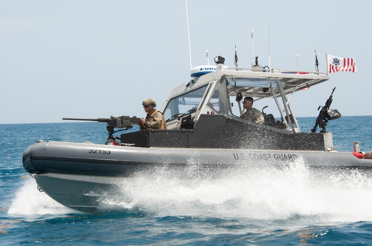 Port Security Unit 309 Underway