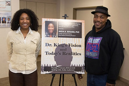 Dr. Martin Luther King Jr. commemoration turns out to be a family affair