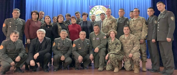 Members of the Preventive Medicine Subject Matter Expert Exchange held Dec. 3-7, 2018, at the Central Military Medical Hospital at Tashkent, Uzbekistan.