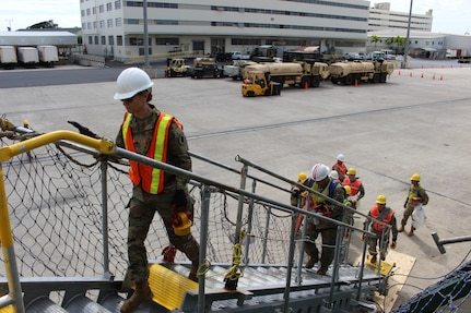 599th Transportation Brigade brings in New Year with Four Port Operations