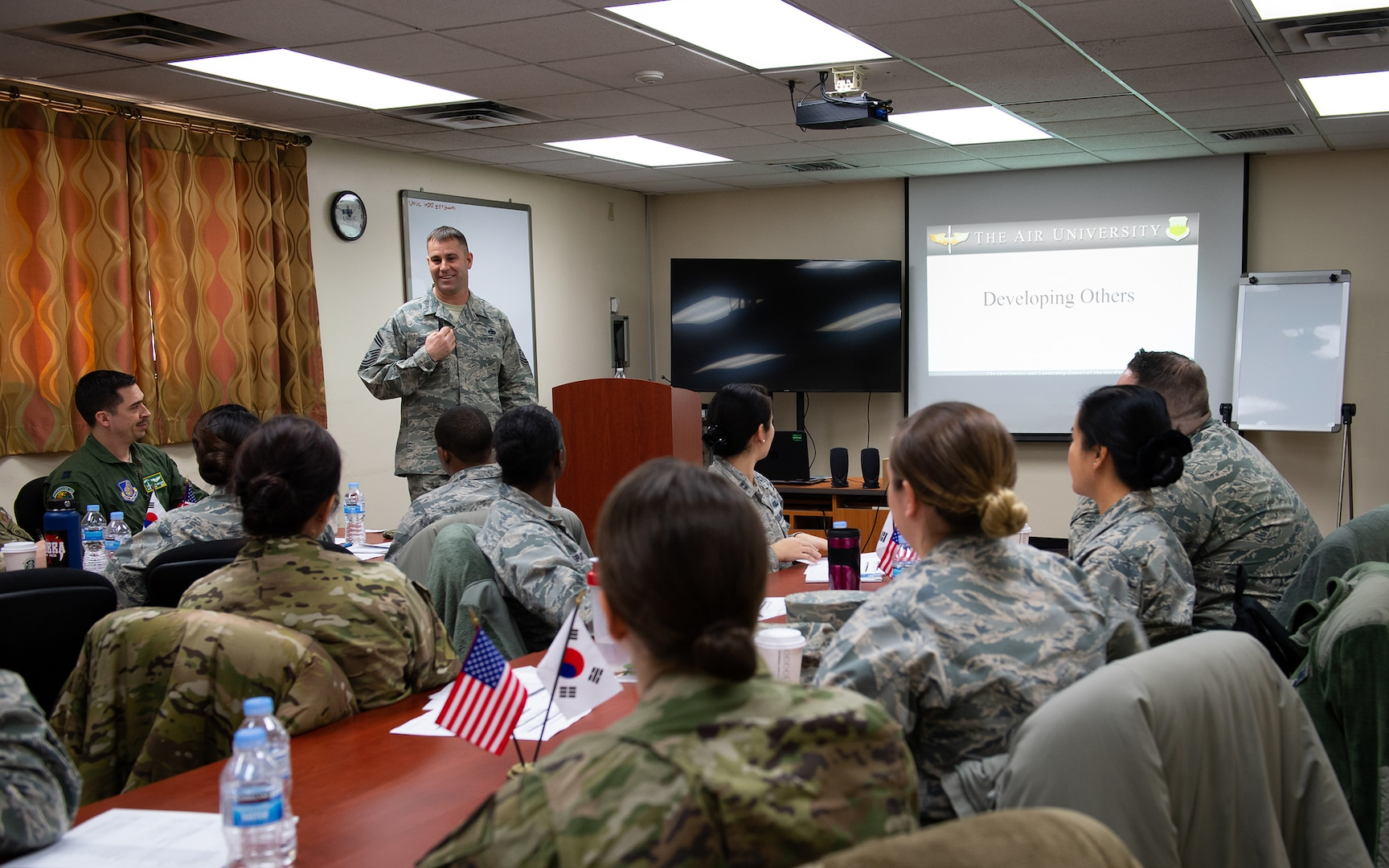 Company-grade Officers Benefit from New Leadership Course