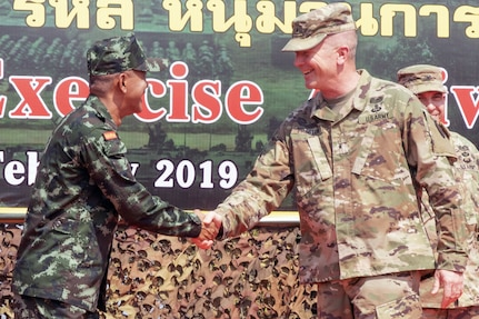 U.S. and Royal Thai Army Soldiers Begin Bilateral Exercise