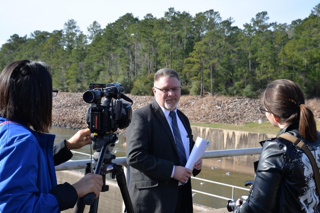 Media Day at Sam Rayburn Reservoir