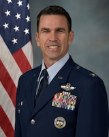 Colonel Mark Richey , Vice Commander 916th Air Refueling Wing