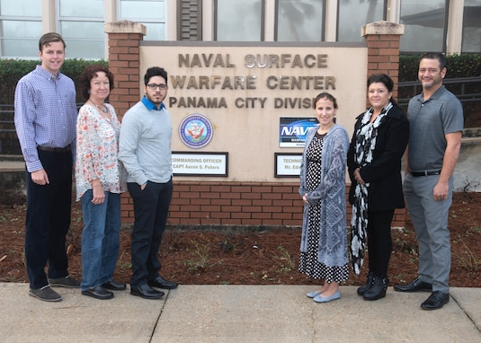 Naval Surface Warfare Center Panama City Division welcomed six newly hired federal civil service employees Jan. 7, 2019. U.S. Navy photo by Eddie Green