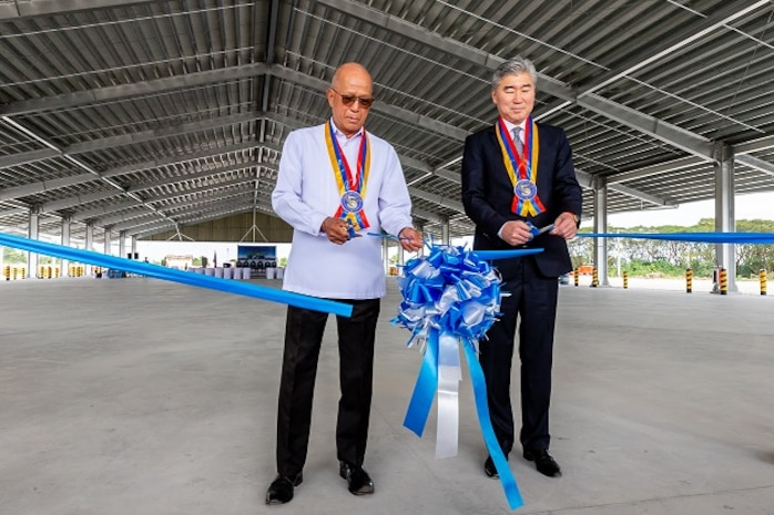 U.S., Philippines Cut the Ribbon on Enhanced Defense Cooperation Agreement Project