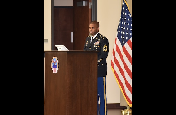 Distribution's Warner promoted to master sergeant
