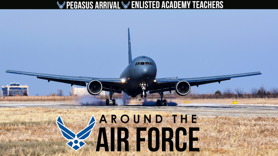 Around the Air Force: Pegasus Ceremony / Enlisted Academy Instructors