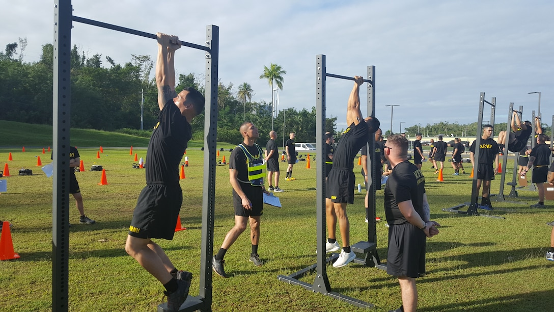 Caribbean Geographical Command troops train in the ACFT