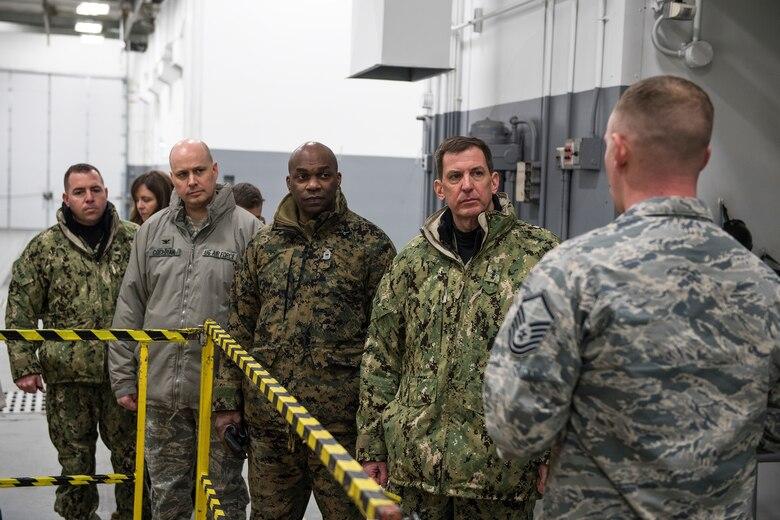 USSTRATCOM deputy commander visits Team Minot