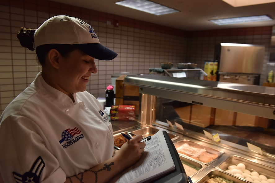 Estrada is one of several Airmen who will train with professional chefs during a week-long course at the Culinary Institute of America, which she has dreamed of doing since high school.