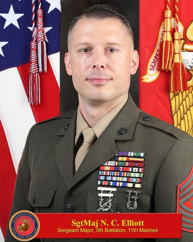 Sgt. Maj. Elliot