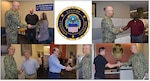 DLA Distribution employees presented commander's coins