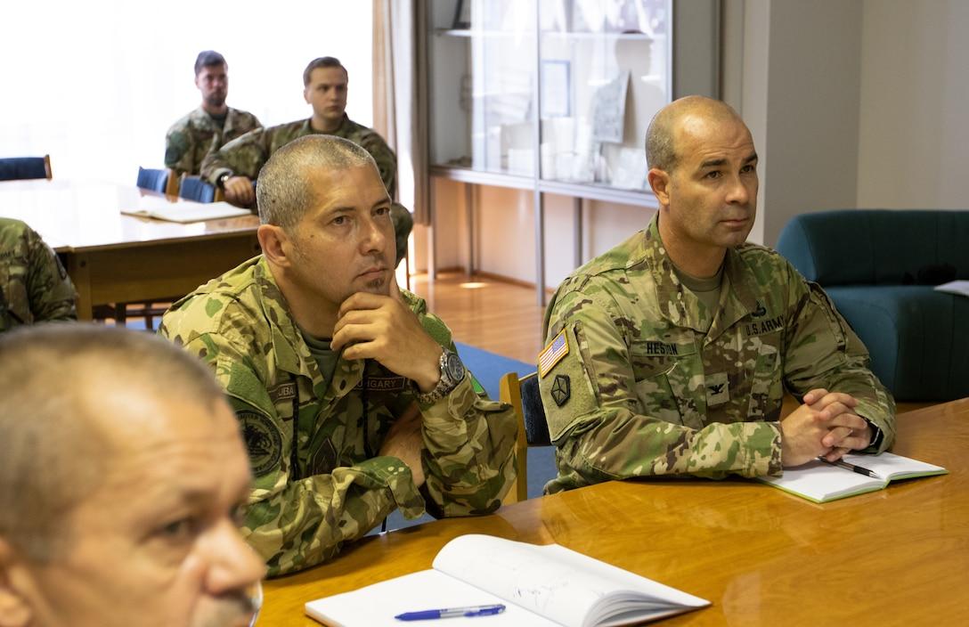 U.S. civil affairs, NATO CIMIC units collaborate during U.S. Army Europe summer exercises
