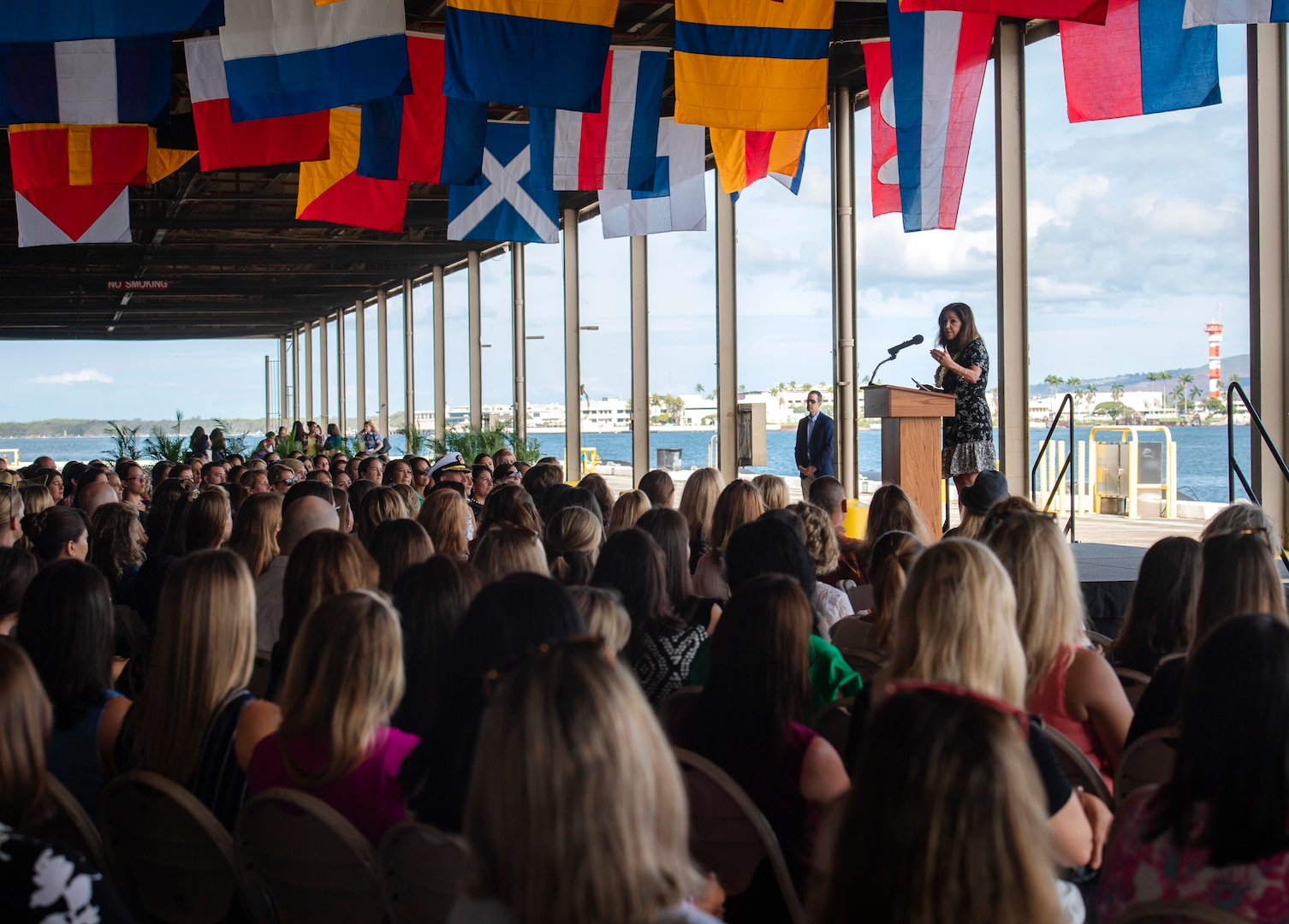 Second Lady Visits Pearl Harbor