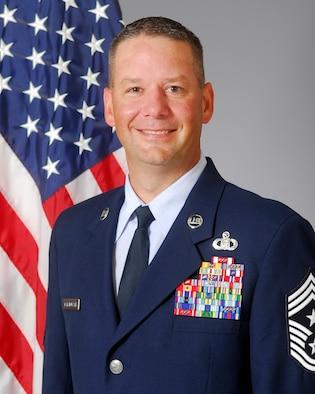 Chief Master Sergeant Randy Kwiatkowski official photo
