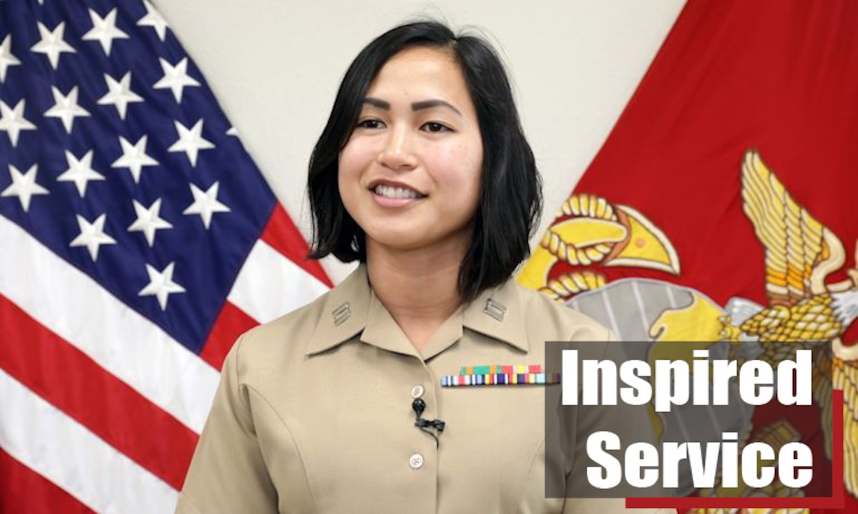 U.S. Marine Corps Captain Riacca Glatt, officer selection officer of Recruiting Station Dallas, 8th Marine Corps District, defines what it means to be a leader in the Marine Corps at the recruiting headquarters in Dallas, Texas on May 23, 2019. Capt. Glatt reminisces on how her mentors inspired her to become the Marine leader she is today and the challenges the Marine Corps has offered her. (U.S. Marine Corps video by Sergeant Anthony Morales)