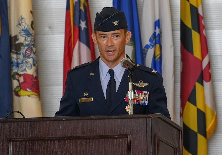 Former Nomad returns to command the 33rd FW
