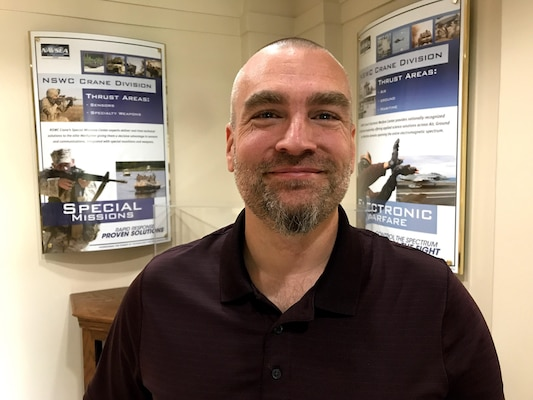 A Naval Surface Warfare Center, Crane Division (NSWC Crane) employee recently completed artificial intelligence research to enhance Electronic Warfare (EW) capabilities. David Emerson, an engineer at NSWC Crane, recently defended his research that uses deep learning to process images and determine distances between objects in a scene.
