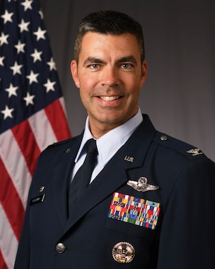 Col. Richard A. Goodman, 366th Fighter Wing Commander.