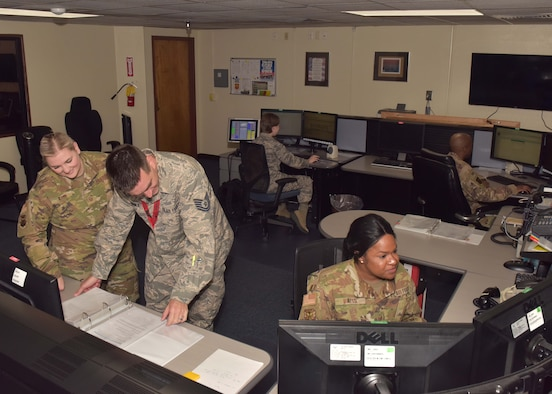 Luke's command post is in two locations, however, they are considered one team and one unit. The primary location is administratively owned by the 56th Fighter Wing and the alternate site is housed at the 944th Fighter Wing.