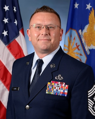 Photo of Chief Master Sgt. David W. Wade, the Command Chief Master Sergeant, Air Combat Command
