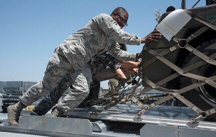 U.S., Japan Logistics Team Equip Misawa Forces for RED FLAG-Alaska 19-2